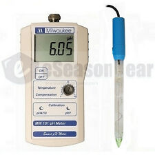 Milwaukee MW101 + MA918 pH meter + soil probe - for direct pH in soil testing