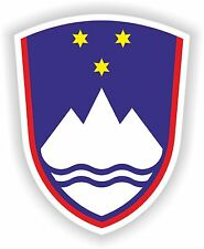 Coat of Arms of Slovenia Sticker Bumper Laptop Helmet Car Truck Motorcycle Boat