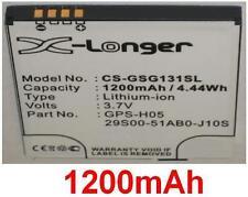 Batterie 1200mAh type 29S00-51AB0-J10S GPS-H05 Pour Gigabyte G1315