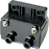 Drag Specialties Dual-Fire 3 ohm Electronic Ignition Coil for Harley-Davidson