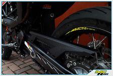 KTM 690 SMC SMCR Carbon Chain Guard Sticker Decal Guards CARBON LOOK FULL SET