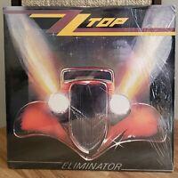 ZZ Top Vinyl LP Eliminator 1985 Warner Bros. Records In Shrink Inner Sleeve NM-