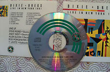 "DIXIE DREGS ""LIVE IN NEW YORK CITY 1981"" CD RARE LIVE FOUR ACES FAR 003"