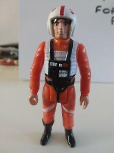 Vintage Star Wars AMAZING TINY WEAR Original Luke Skywalker X-Wing Figure AFA