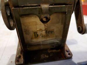 Antique Vintage Dexter No. 3 Hand Pencil Sharpener Automatic Co. - Chicago, IL