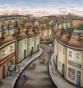 Paul Horton Make My Day Limited Edition Giclee print
