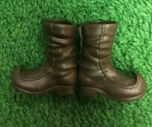 Disney KRISTOFF Ken Doll Shoes Boots CURLED TOES Diorama Replacement EUC! Clean