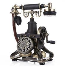 Luxury European Vintage Antique Corded Telephone Nice Home Decor Gift Style M02