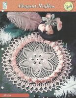 Ruffled Spoke Doily Elegant Ruffles crochet pattern leaflet