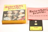 RARE SPITTING IMAGE  Amstrad CPC 464 6128 Disk Game  By Domark 1988