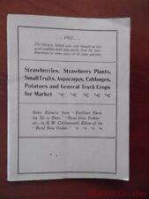 1903 Mapes Peruvian Guano Fertilizer Vegetable Market Garden Catalog Brochure
