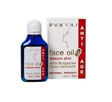 Ikarov Face Oil With Bulgarian Rose Absolute - 30ml Anti-aging for Mature Skin