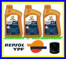 Kit Tagliando Kawasaki ER-6 14>15 Filtro Olio REPSOL 10W/40 ER6  6N 6F 2014 2015