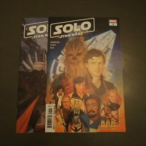 SOLO: A Star Wars Adaptation #1 & 2(Marvel 2019 1st Qi'ra & Lady Proxima Keys!