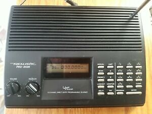 Vintage Realistic PRO-2028 50 Channel Programmable Scanner, Tested