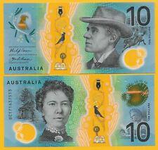 Australia 10 Dollars p-63 2017 UNC Polymer Banknote