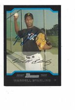 2004 Bowman Wardell Starling Pittsburgh Pirates Authentic Autograph COA