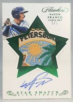 WANDER FRANCO 💎 1/1 RAREST 2020 Flawless 8 COLOR Rookie Patch On Card Auto EVER