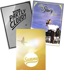 Ski DVD 3-Pack Sunny Partly Cloudy Long Story Short Level 1 Winter Extreme Sport