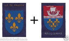 2 INSIGNES ECUSSONS PARIS + ILE DE FRANCE VINTAGE ANCIEN BOY SCOUT  Pfadfinder