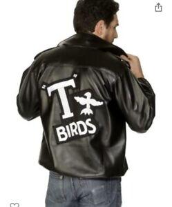 Official Grease T-Birds 50's Jacket Fancy Dress Costume Danny TBird