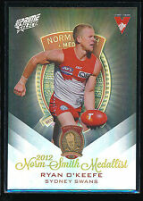 2013 Select Prime Sydney Swans Ryan O'Keefe Norm Smith Medal card MW3
