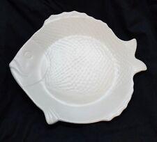 """Chicken of the Sea, Bauer Pottery, California, Tuna Fish, 10"""" Plate/s (F87)"""