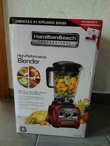 Hamilton Beach 1.8 L Professional Blender, 1400-Watt (58912-CE) Rot Standmixer