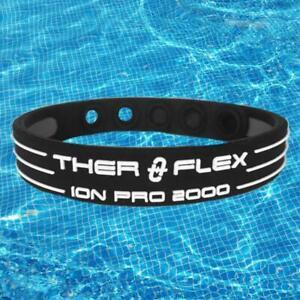 🏄THER-O-FLEX ION PRO 2000 TITANIUM+ ENERGY POWER BALANCE ADJUSTABLE BRACELET