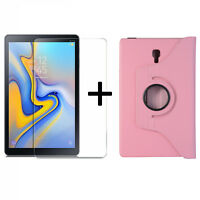 2in1 Néc Samsung Galaxy Tab A 10.5 SM-T590 T595 Verre de Protection + Étui Coque