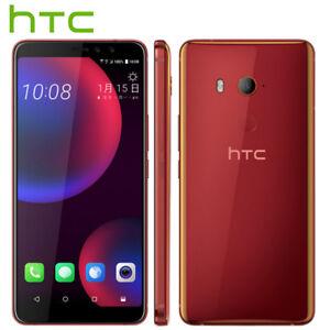 "Original 6"" HTC U11 Eyes 4G LTE 64GB Dual camera Octa Core SmartPhone 3Color"