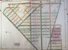 1920 E. Blecher Hyde Gravesend, Brooklyn, New York Atlas Map 27x36