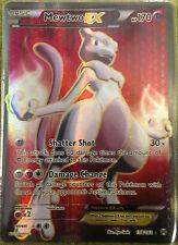 Pokemon TCG XY BREAKTHROUGH : MEWTWO EX FULL ART (RED) 158/162