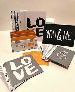 Stampin Up Love Story Project Life Card Collection Wedding Retired Sealed Box