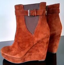 Ladies Women's Leather Suede Designer ankle boots Size 3 (36)  by Cara London