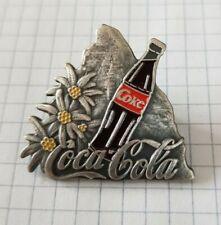 Coca Cola, Coke, Matterhorn, Edelweiss, PIN, 1992