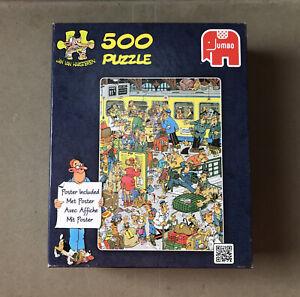 Platform Pandemonium by Jan van Haasteren - Jumbo 500 Piece Jigsaw Puzzle.