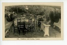 Twinflower Restaurant? South Newbury RPPC Doll House FOOD BUFFET Antique Photo