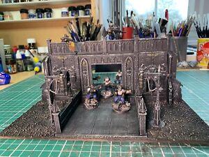 Warhammer 40k Scenery Imperial Sector Terrain Building 3