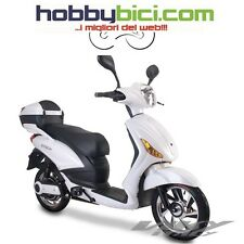 Motorino Scooter Bicicletta Elettrica E-Scooter Z-tech t-09 500w 48v Viky bianco