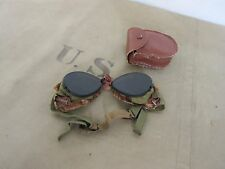 Us army snow Goggles Mountain troops neige lunettes steam punk hot rod wk2 wwii