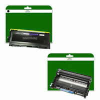 1x Toner + Drum for Brother HL-2130 2132 2135 2135w  non-OEM TN2010 / DR2200