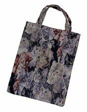 Tragetasche Einkaufstasche Einkaufsbeutel Tasche Beutel Bag Katzen Design Motiv