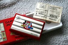 Complete MICKEY & DONALD Game & Watch. Box, Intruc, Styro. NEAR MINT, LOOK!