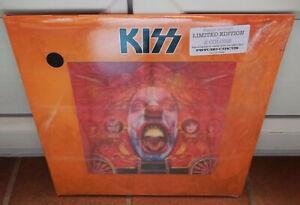 KISS psycho circus + LIVE 1998 LP 3D GIMMICK COVER Limited 1000 ex. Black vinyls