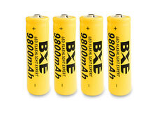 4PCS BXE 18650 Battery 9800mAh Li-ion 3.7V Rechargeable Batteries Ship from USA