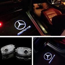 2x MERCEDES AMG Car Door LED Logo Light Ghost Shadow Projector Laser Courtesy