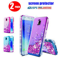 For Samsung Galaxy J7 2018/J7 Star/Refine/J7 Crown Case With Screen Protector