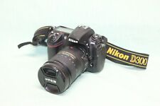 Nikon D D300 12.3MP Digital SLR Camera With AFS DX VR 18-200mm G ED 3.5-5.6
