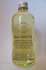 Aromatherapy All Natural Rose Bath Oil - calming/ balancing/ romantic